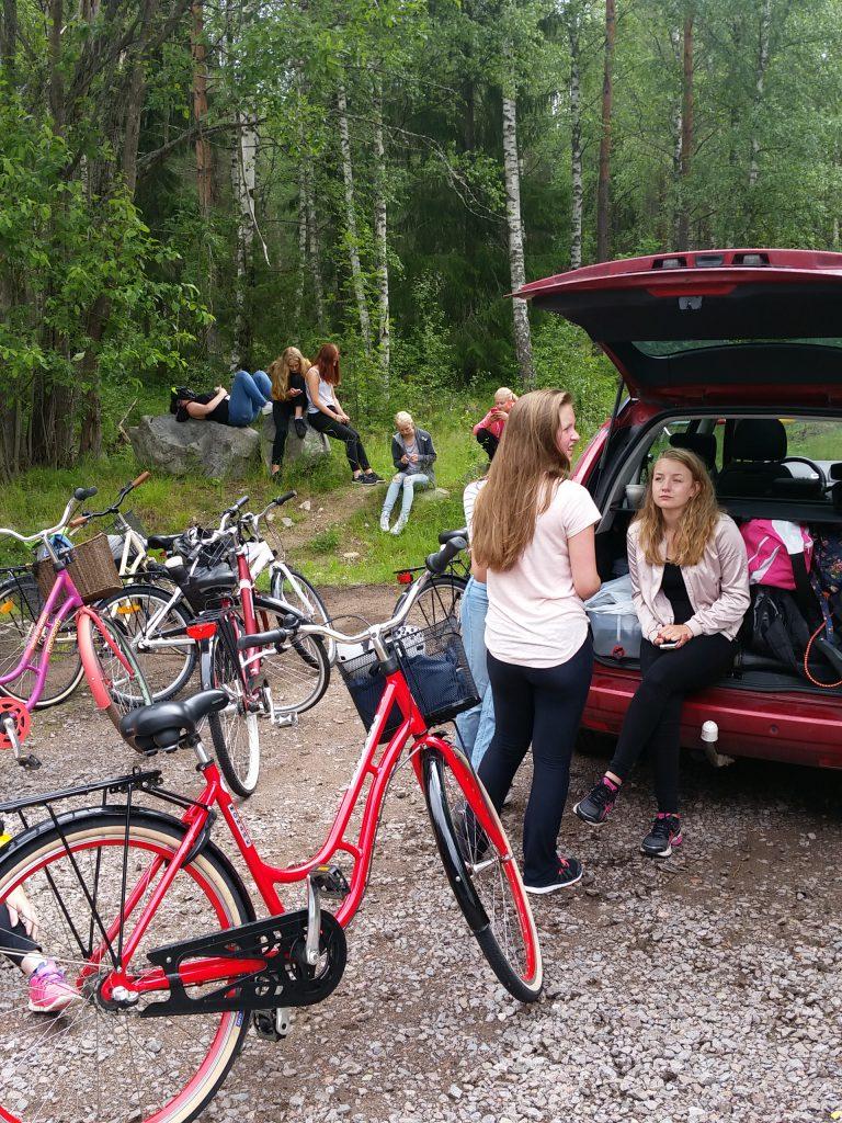 Vattenpaus på vägen till Falun