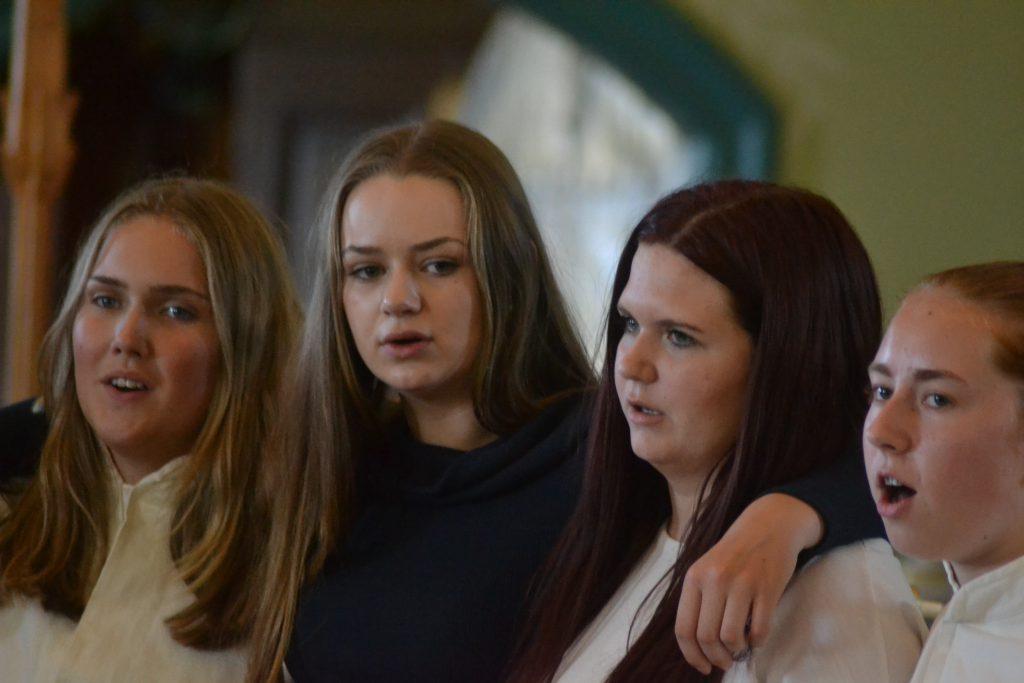 Saskia, Amanda och Hännii
